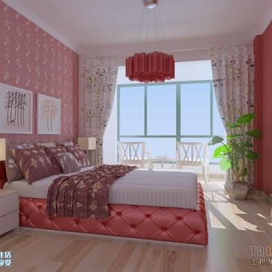 90平米三室一厅装修效果