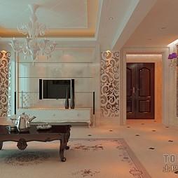 客厅模型000