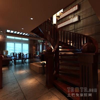 004楼梯背景