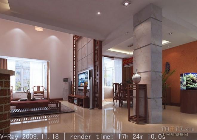 电视背景及餐厅空间(PS)