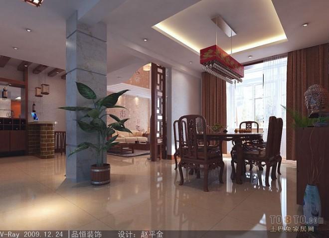 餐厅往客厅空间(PS)