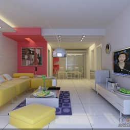 客厅-色彩