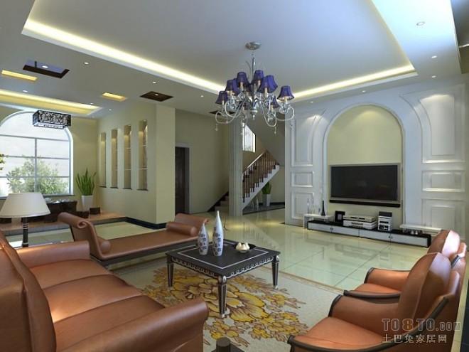 欧式现代客厅213525