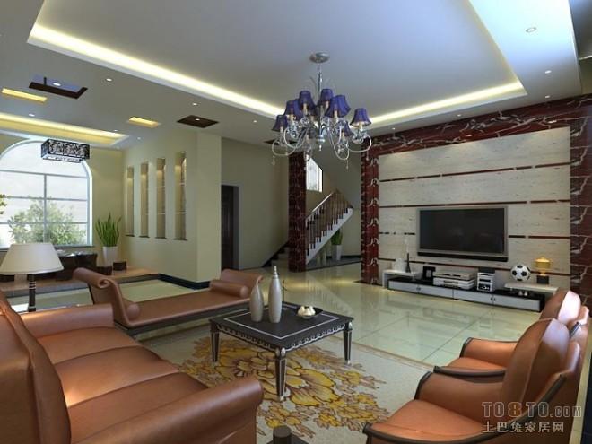 欧式现代客厅213527