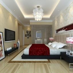 红黑房子卧室