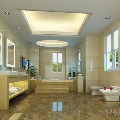 混搭卫生间奢华瓷砖装修设计效果图