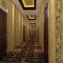 大众浴室走廊