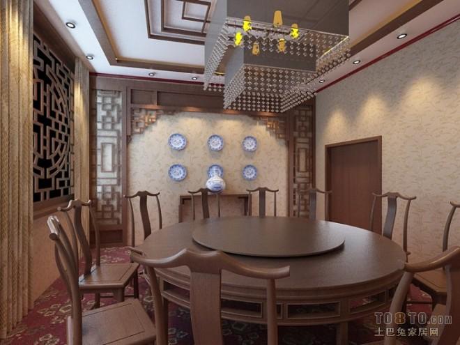中式旅馆的房间效果图