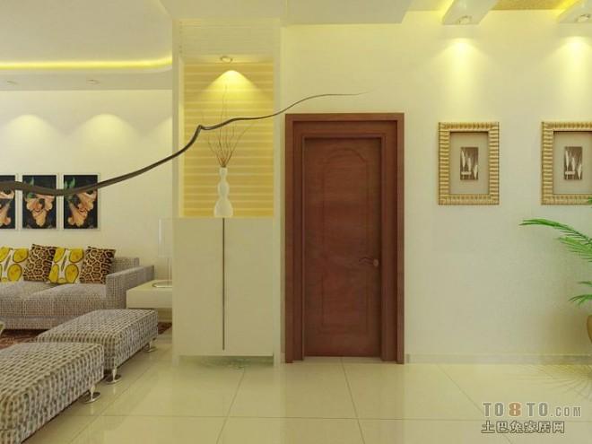 中式风格客厅简约家装装修效果图