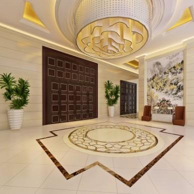 混搭风格会议型酒店中心大堂设计图