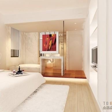 现代风格卧室349693