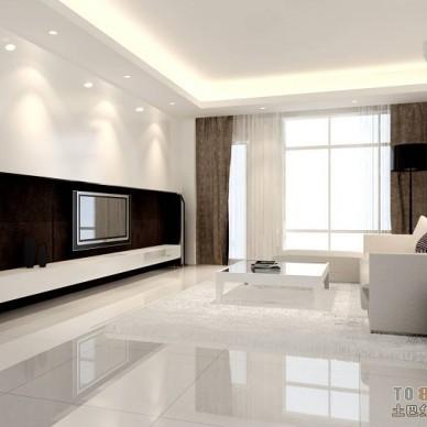 现代风格客厅349692