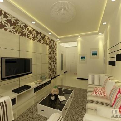 现代风格客厅360532