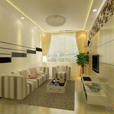 现代风格客厅360530