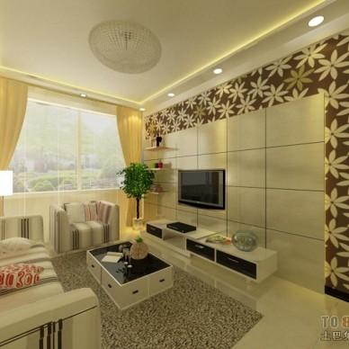 现代风格客厅360531
