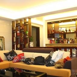 中式客厅装修设计案例图