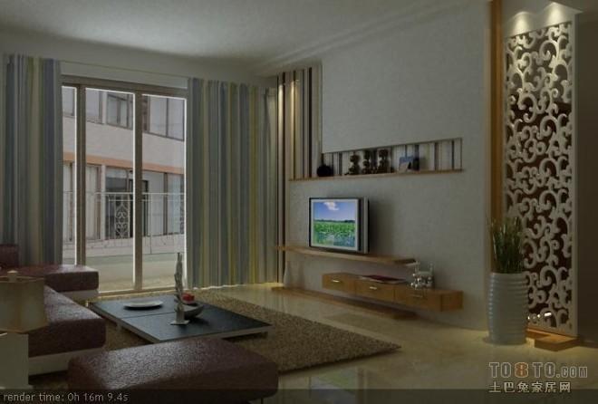 现代风格客厅369082