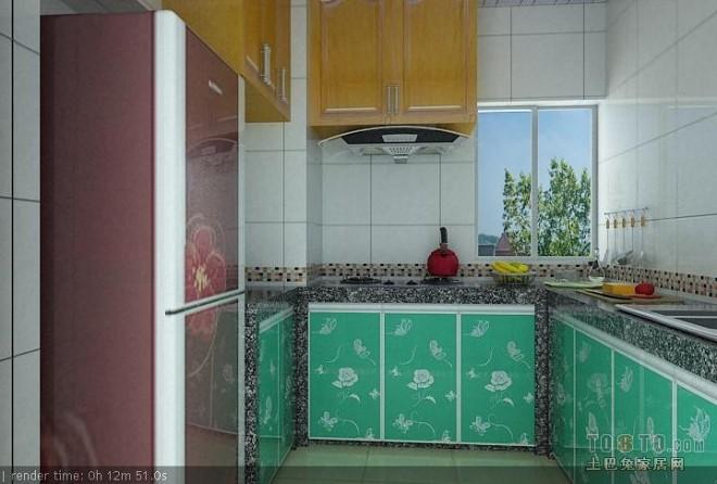 现代风格厨房369083