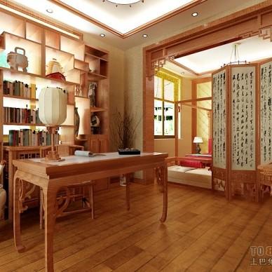 中式古典书房372975