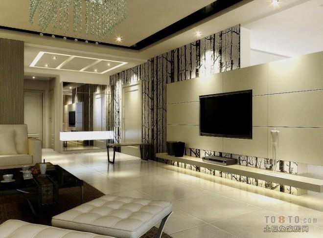 现代风格客厅392855