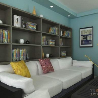 现代风格客厅408629