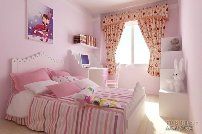 现代风格卧室408542