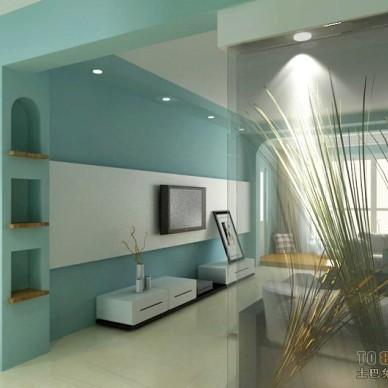 现代风格客厅408628