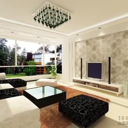 现代风格客厅413573