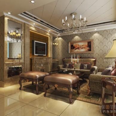 A 欧式 客厅