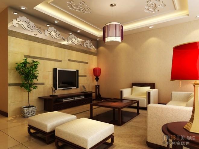 A 中式 客厅