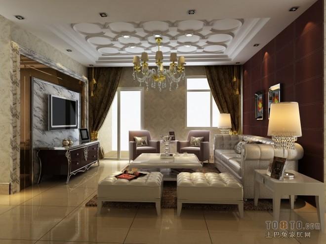 D 欧式 客厅