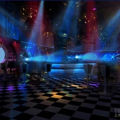 酒吧灯光设计效果图