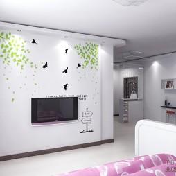 50平米两室一厅装修效果图欣赏