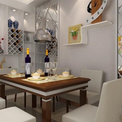现代风格餐厅装修效果图大全2012图片