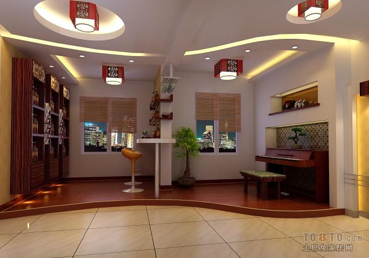家庭酒柜装修效果图_家庭酒柜吧台装修效果图 – 设计本装修效果图