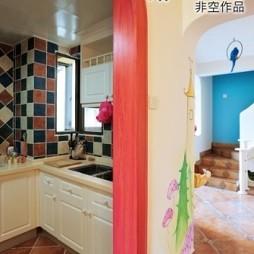 地中海风格整体家居厨房装修效果图欣赏
