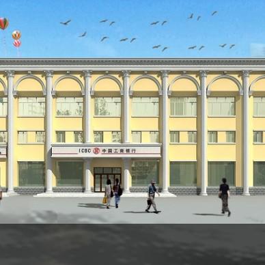 办公楼建筑设计效果图