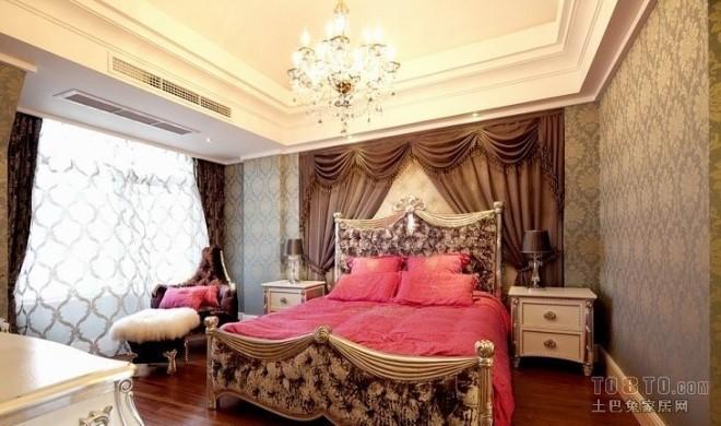 欧式现代卧室547991