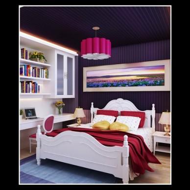 复式楼卧室-1