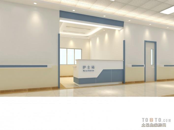 医院护士墙图片_护士站 – 设计本装修效果图