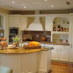 欧式风格整体20平米家居厨房橱柜装修图片