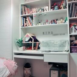 田园风格三室一厅女孩儿童房装修效果图片