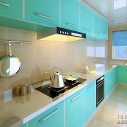 简约风格厨房装修效果图大全2012图片