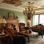房屋客厅集成吊顶装修效果图片
