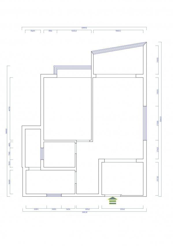 60平米一室一厅想改成两个卧室该怎样改?