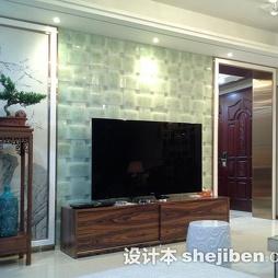 这个电视背景墙用的是什么材质?