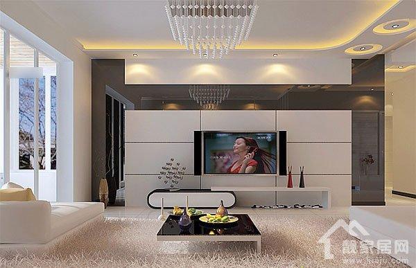 家里其它墙面刷的是白色的乳胶漆,电视墙的四周是灰镜,电视墙的中间想贴壁纸,请问壁纸选什么颜色?谢谢