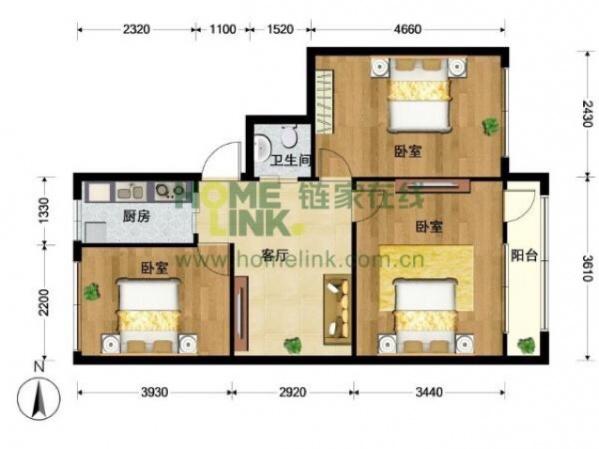 客厅太小,这样的户型如何改?