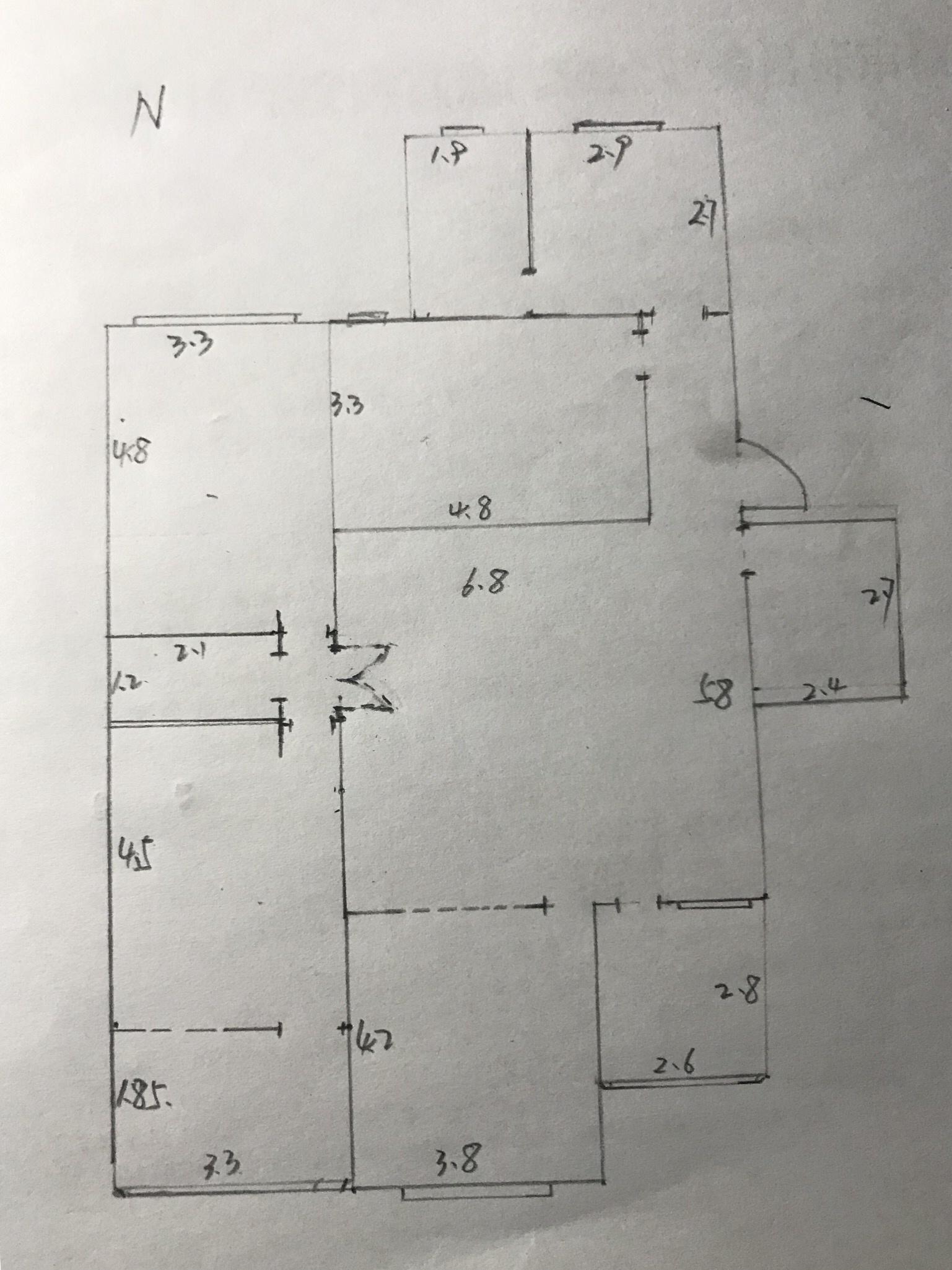 1998年老房子,174平,四室二厅双卫,想改造装修,中式、禅意的