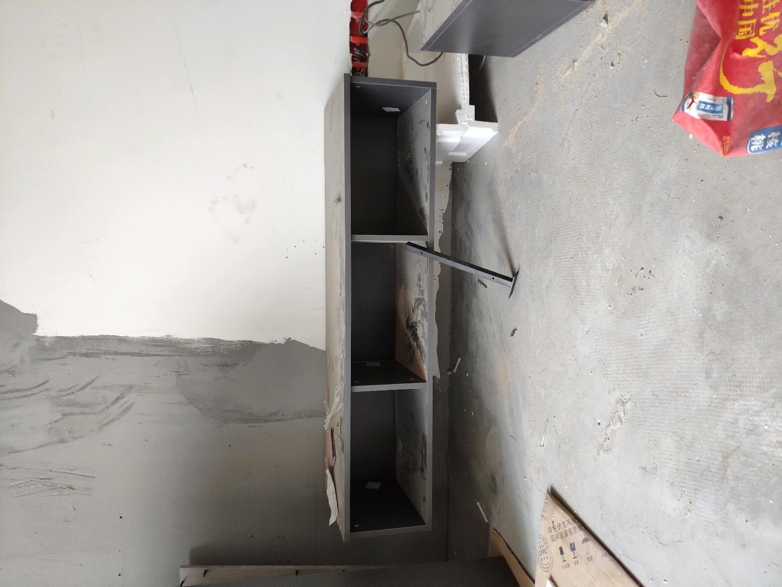 求助大神空心墙做悬挂柜怎么弄?